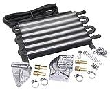 Empi 00-9276-0 6-Pass Oil Cooler Kit, 1/2' Hose Barb, w/Booster Kit