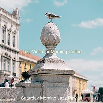 Jazz Violin for Morning Coffee