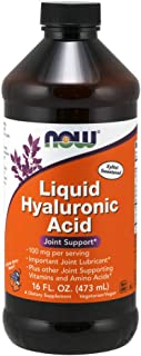 NOW Supplements, Liquid Hyaluronic Acid, Delicious Berry Flavor, 100 mg Per Serving, 16-Ounce
