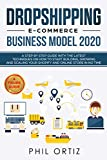 Best Ecommerce Books - Dropshipping E-Commerce Business Model 2020: A Step-by-Step Guide Review