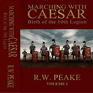 Marching with Caesar cover art