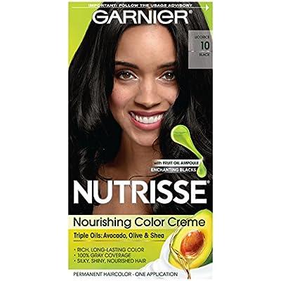 Garnier Nutrisse Nourishing Color Creme Black [10] 1 ea