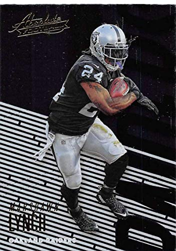 2018 Absolute Football #78 Marshawn Lynch Oakland Raiders Official NFL Trading Card made by Panini