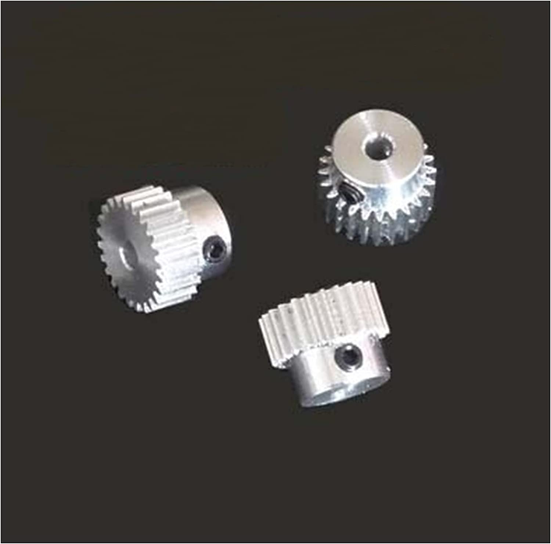 Award-winning favorite store DINGGUANGHE-CUP Durable 3pcs 0.5M-25Teeth Alloy Aluminum Pinion