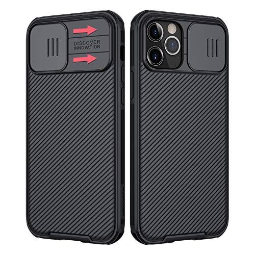 NILLKIN Funda iPhone 12 Pro/iPhone 12 6.1'', [Protección de la cámara] Estuche...