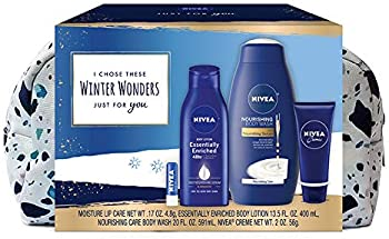 NIVEA Winter Wonders Skin Care 4-Piece Gift Set for Her