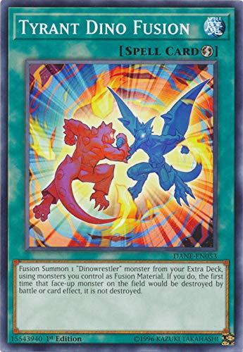 Yu-Gi-Oh! - Tyrant Dino Fusion - DANE-EN053 - Common - 1st Edition - Dark Neostorm