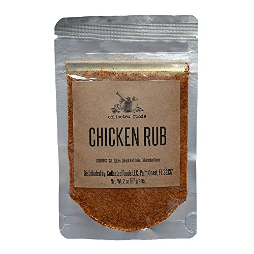 Chicken Rub: Seasoning for Grilling or Roasting Poultry & Vegetables | No MSG