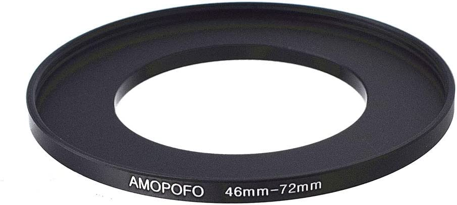 62mm to 82mm Step-Up Lens Adapter Ring For Filters Made Of CNC Machined space aluminum With Matte Black Electroplated Finish,Compatible All 62mm Camera Lenses /&82mm UV CPL Filter Accessory