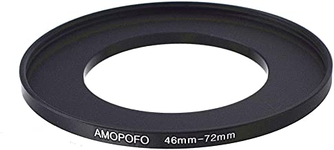 Universal 46 to 72mm /46mm to 72mm Step Up Ring Filter Adapter for Canon NEX FX M4/3 UV,ND,CPL,Metal Step Up Ring