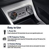 Zoom IMG-1 zealife trasmettitore fm bluetooth autoradio