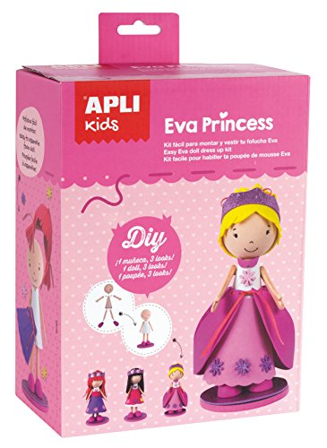 APLI apli14822 prinses schuimstof pop craft kit