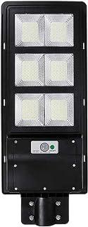 AKT LIGHTING 300W LED Solar Wall Lamp Street Light IP65 Motion Sensor Dustproof Security for Garden,Yard,Shed,Garage