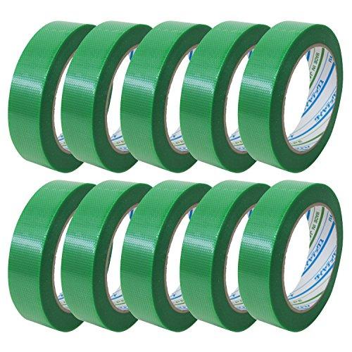 ダイヤテックス パイオランクロス 養生用テープ 緑 25mm×25m Y-09-GR 10巻入り