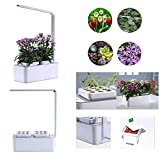 Indoor Herb Garden, Hydroponics Growing System, Grow Up to 18 Plants in 25 to 40 Days, LED Grow Light, for...