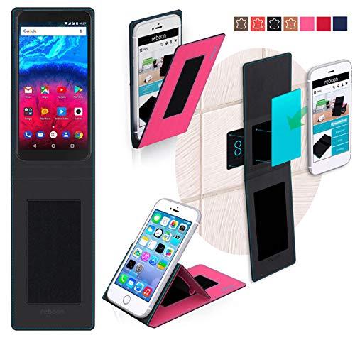 reboon Hülle für Archos Core 60s Tasche Cover Case Bumper | Pink | Testsieger
