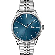 Lacoste Men's Analogue Quartz Watch with Stainless Steel Strap 2011049