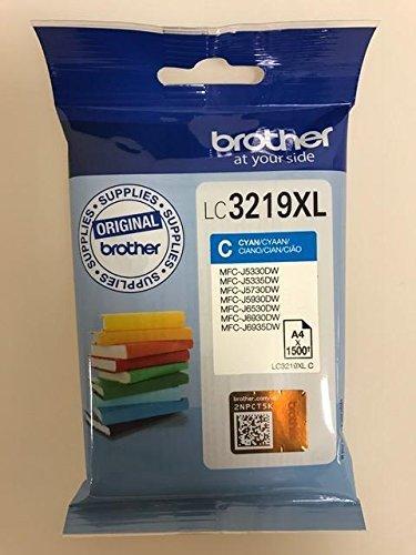 Original Druckerpatronen für Brother MFC-J5330DW, MFC-J5335DW, MFC-J5730DW, MFC-J5930DW, MFC-J6530DW, MFC-J6930DW, MFC-J6935DW inkl. Kugelschreiber (cyan XL)