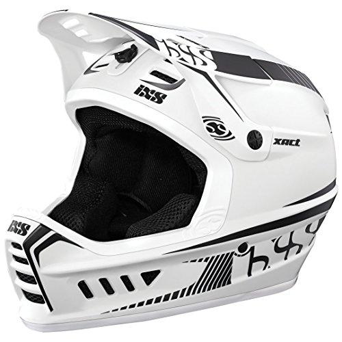 IXS Xact Fahrradhelm Weiß/Schwarz, L/XL (60-62 cm)