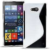 Conie SC19771 S Line Case Kompatibel mit Microsoft Lumia