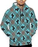 1Zlr2a0IG PecoStar Scottish Terrier Unisex Winter Hoodies 3D Print Pullover Lightweight Sweatshirts Pockets