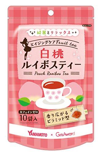 山本漢方製薬 白桃ルイボスティー 10包入
