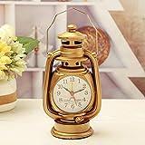Reloj despertador vintage reloj despertador retro lámpara de aceite despertador reloj mesa de...