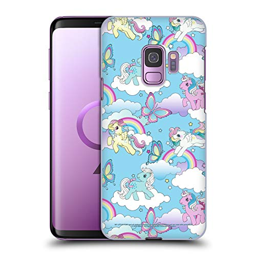 Head Case Designs Officially Licensed My Little Pony Classic Rainbow Unicorns Off My Cloud Hard Back Case Compatible with Samsung Galaxy S9