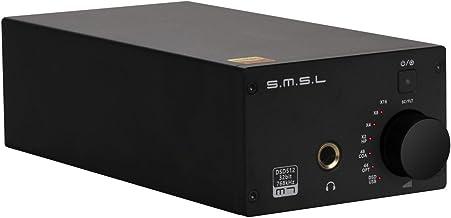 SMSL M7 2xAK4452 32Bit/768KHz DSD512 HiFi Audio USB DAC with Headphone Amplifier