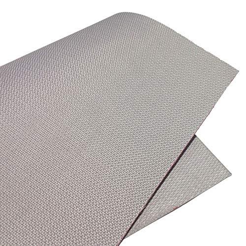 Tecplast Bâche 455 g/m² ignifugée M0 - Grise - 3 x 5 m - bache Etanche - bache Exterieur - bache Pro Ignifuge