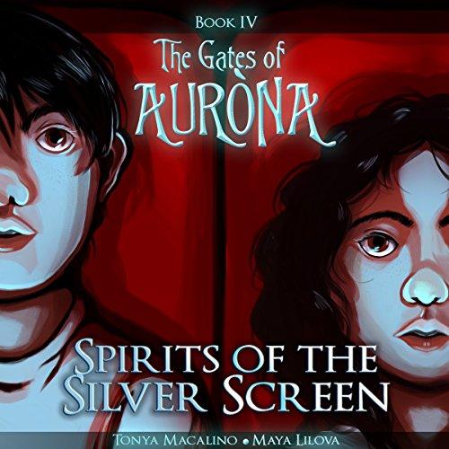 Page de couverture de Spirits of the Silver Screen