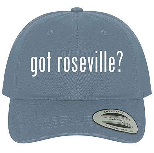The Town Butler got Roseville? - A Comfortable Adjustable Dad Baseball Hat, Light Blue, One Size
