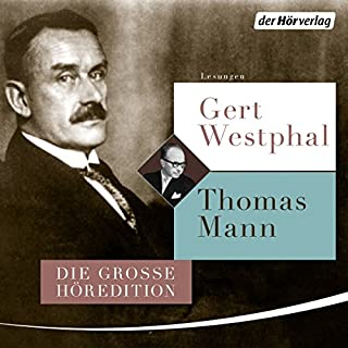 Gert Westphal liest Thomas Mann                   By:                                                                                                                                 Thomas Mann                               Narrated by:                                                                                                                                 Gert Westphal                      Length: 26 hrs and 40 mins     5 ratings     Overall 5.0