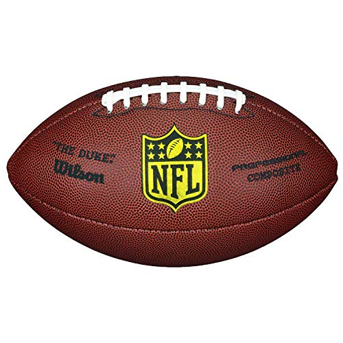 NFL Wilson Duke Replica Football (9, Brown)