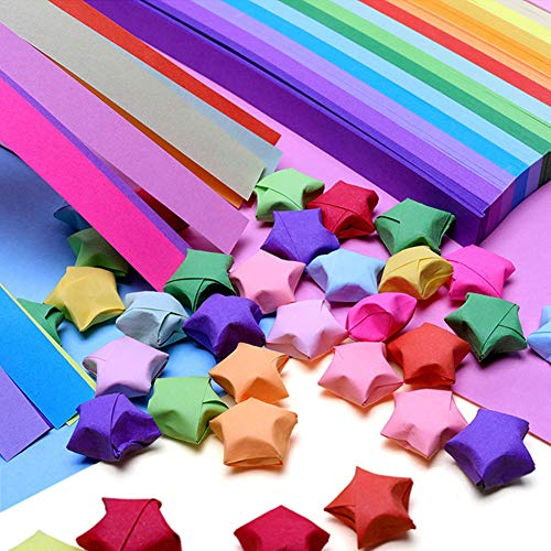 300 Pcs Origami Colored Safe Manual Paper Hand Craft Paper for Classroom Office