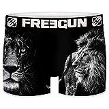 FREEGUN Boxer Homme Animaux Lion (S, Lion 02)