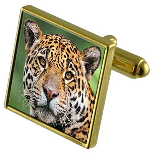 Select Gifts Or Cat Jaguar-ton de manchette Crystal-cravate Cadeau
