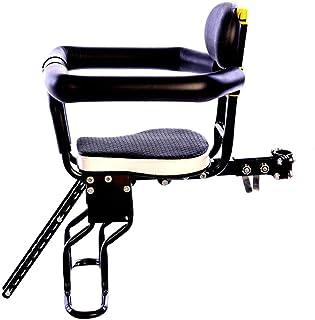 Haunen - Sillín infantil para bicicleta delantera, asiento para niños, plegable para bicicleta de montaña, bicicleta híbrida y bicicletas de fitness