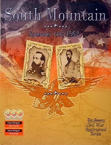 MMP  South Mountain, Sept. 14 1862, Board Game