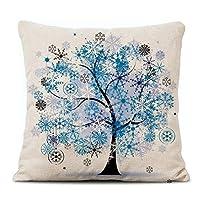 CAPOOK ホームリネンクッション現代の印刷枕クッションソファ枕(枕カバー+枕コア) 枕 マタニティ枕 (Color : 26)
