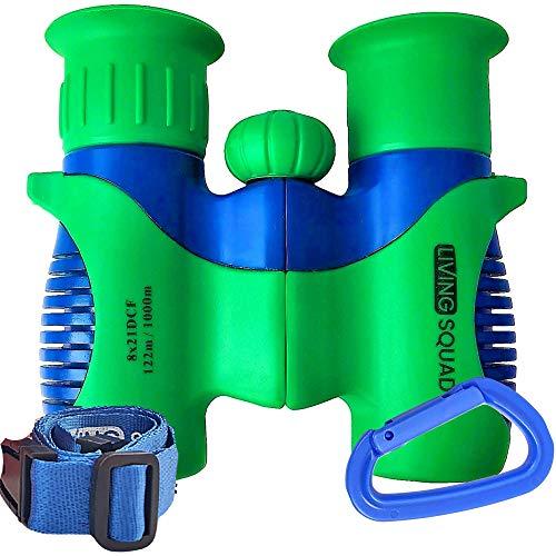 Binoculars for Kids 8x21 High-Resolution - Kids Binoculars Gift Set for Boys & Girls, Shockproof & Compact for Bird Watching, Travel, Hiking, Camping, Hunting, Children Outdoor Gear