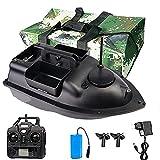 ZCME-power Futterboote Smart RC Boot, Köderboot, Futterboot mit Echolot und GPS, Entfernung GPS Cruise Köder-Boot mit 12000Mah Batterie 3 Unabhängigen Köderfächern NachtlichtGPS