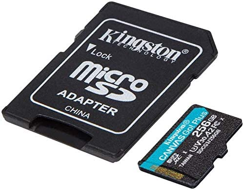 Kingston Dealing full price reduction GO Plus Works for Ranking TOP9 Fly Can Garage 256GB Grid4 MicroSDXC