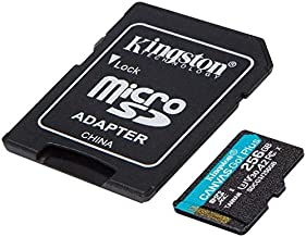 Kingston GO! Plus Works for 256GB HTC One A9 MicroSDXC Canvas Card Verified by SanFlash. (170MBs Works with Kingston)