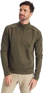 C9 Champion Men's Ponte 1/4 Zip Jacket, Grit Brown Heather, Medium