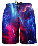 Hgvoetty Galaxy Swimming Trunks for Men Cool Space Bathing Suit...