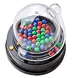 TOYANDONA 1 Juego de máquina de lotería eléctrica para Fiestas, Mini máquina de Juegos de lotería, máquina de Premio Mayor