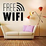 WERWN Pegatinas de Pared Conexión a Internet WiFi Gratis Pe