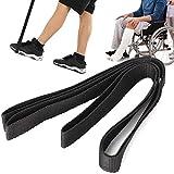 XER Beinhebehilfe Fahrt Bein Heber mit Hand und Fuß Schlaufen Mobilität Gerät Heben Hilfe zum Rollstuhl, Bett, Auto, Couch, 115 cm / 45.3in.