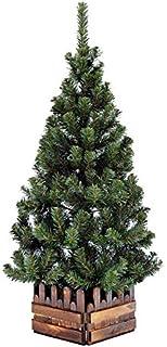 クリスマスツリー120cmスリム濃緑 品質保証高級ツリー